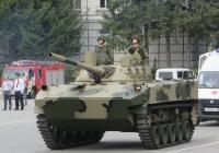 Боевая машина десанта БМД-4М. Курган, площадь имени В.И. Ленина