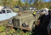 Автомобиль ГАЗ-69. г. Москва, улица Заречье (Музей индустриальной культуры)