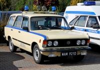 Санитарный автомобиль FSO 125p #WAM921D. Orląt Lwowskich 138, Сосновец, Польша