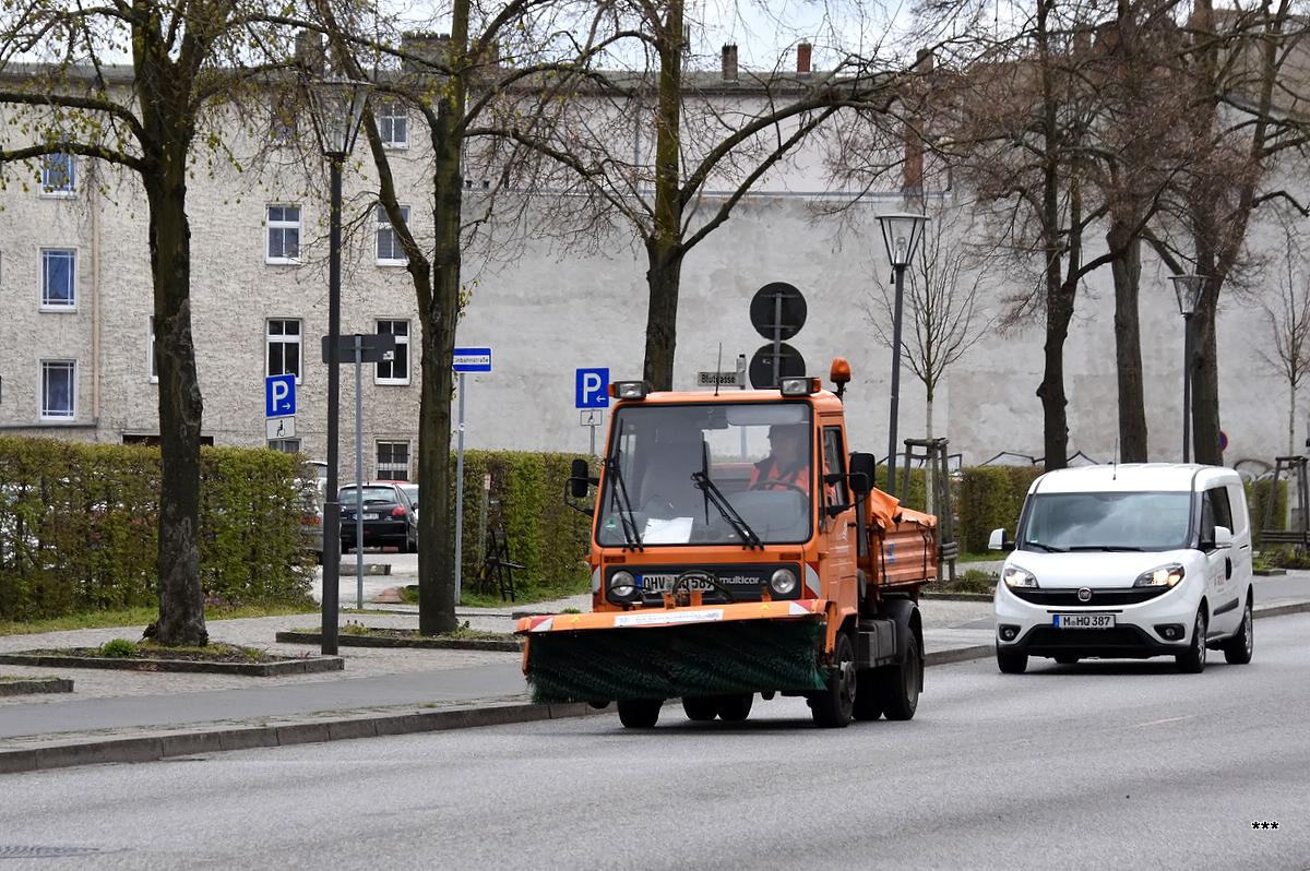Универсальный мини-грузовик Multicar M26 Ecoline. Германия, Бранденбург, Ораниенбург