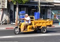 Грузовой мотороллер. Израиль, Тель Авив