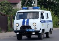 Полицейский автомобиль УАЗ-3309 #М 1783 60. Псков, улица Олега Кошевого