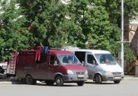 """Фургон ГАЗ-2705 """"Газель"""" #Р 134 УМ 72. Курган, улица Гоголя"""