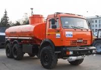 топливозаправщик на базе КамАЗ-43118 (шасси). г. Самара, пл. им. В. В. Куйбышева