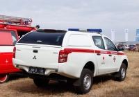 Оперативно-пиротехнический автомобиль Mitsubishi L200, #8813Ч1. Харьковская область, аэродром «Коротич»