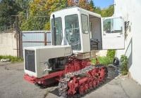 Трактор Т-70СМ-4. Чувашия, г. Чебоксары, пр. Мира, научно-технический музей истории трактора