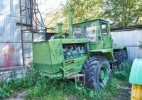 Трактор Т-150К. Чувашия, г. Чебоксары, пр. Мира, научно-технический музей истории трактора