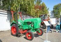 трактор Porsche-Diesel 218 Standard. Чувашия, г. Чебоксары, пр. Мира, научно-технический музей истории трактора