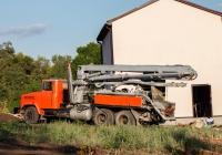 Автобетононасос БН-80-20М на шасси КрАЗ-65101. Харьковская область, село Петросовка