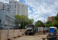 Передвижная автомобильная кухня на шасси ЗиЛ-131Н #А 397 МК 750. Москва, 1-я Хуторская улица