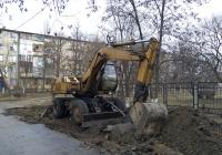Экскаватор ТВЭКС ЕК-14. Приднестровье, Тирасполь, Одесская улица