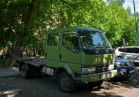 Грузовой автомобиль Mitsubishi Fuso Canter 4WD #О 304 НК 197. Москва, улица Павла Корчагина