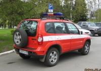 Chevrolet Niva. Алтайский край, Барнаул, площадь Советов