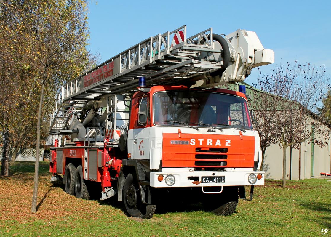 Пожарный гидравлический подъемник Bronto Skylift на шасси Tatra 815 #671[S]53. Stadionowa 7A, Мысловице, Польша