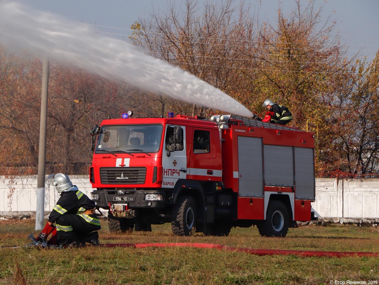 Автоцистерна пожарная АЦ-4-60 (5309)-505М, #1786Ч3. Харьковская область, г. Харьков, улица Баварская
