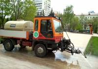 коммунальный автомобиль Bomag F60. г. Самара, Самарская площадь