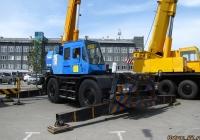 Кран Tadano TR-250M. Алтайский край, Барнаул, проспект Строителей