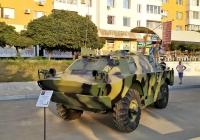 БРДМ Вооруженных сил ПМР. Приднестровье, Тирасполь, Набережный переулок