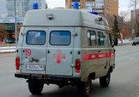 Медицинский автомобиль на базе УАЗ-3962 #Т820ВА163. г. Самара, Московское шоссе