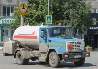Автоцистерна для перевозки сжиженного газа АЦТ-8МУ на шасси ЗиЛ-433362 #К 007 КМ 45. Курган, улица Куйбышева