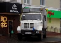 Фургон на шасси ЗИЛ-4331 #Х 324 ОВ 72. Тюмень, улица Орджоникидзе