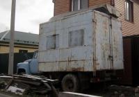 Фургон на шасси ГАЗ-52 #О 0585 ТЮ. Тюмень, улица Кулибина