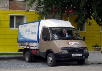 """Грузовой автомобиль ГАЗ-33021 """"Газель"""" #М 001 ВР 58. Тюмень, Олимпийская улица"""