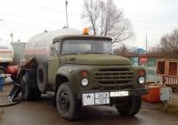 Автоцистерна для перевозки сжиженного газа на шасси ЗиЛ-138 #У 379 ВН 60. Псков, Инженерная улица