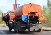 Комбинированная машина ЭД-405А на шасси КамАЗ-65115 #Р 720 КК 60. Псков, Крестовское шоссе