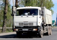 Самосвал 689967 на шасси КамАЗ-65115 #Х 345 КТ 60. Псков, Крестовское шоссе