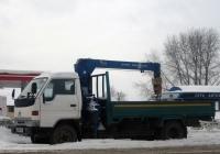 Бортовой грузовой автомобиль с КМУ Toyota Toyo Ace #А 894 ХУ 72. Тюмень, Московский тракт