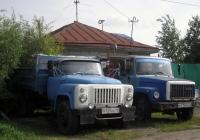 Самосвалы ГАЗ-САЗ-3507 #В 123 АХ 72 и ГАЗ-САЗ-35071 #В 715 РР 72 . Тюмень