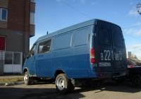 """Цельнометаллический фургон ГАЗ-27057 """"Газель""""#В 221 ХВ 72. Тюмень, улица 9 января"""