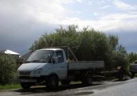 """Бортовой грузовой автомобиль ГАЗ-3302 """"Газель""""#К 745 РР 72 с прицепом . Тюмень, Березняковский"""