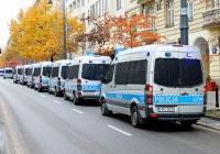 Полицейский автомобиль Mercedes-Benz Sprinter 316 HPGB554. Варшава, Польша