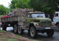 Седельный тягач на базе ЗИЛ-131Н #о217ем63. Самара, Партизанская улица
