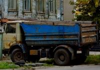 Самосвал МАЗ-5551 #А882АЕ63. Самара, улица Братьев Коростелёвых