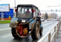 Насосная установка на тракторе МТЗ-80* #2634 СР 63. Самара, Московское шоссе