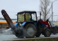 Баровая установка на базе трактора МТЗ-82 #5651СВ63. Самара, Московское шоссе