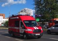 пожарный штабной автомобиль на базе Ford Transit #Х414ВХ163. Самара, Московское шоссе