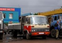 Бортовой грузовой автомобиль с КМУ Nissan Diesel Condor #М 970 МО 72 . Тюмень, улица 50 лет Октября