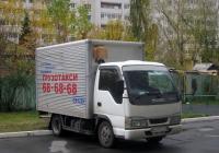 Фургон на базе Isuzu ELF #Н 499 ЕС 72 . Тюмень, Сосьвинская улица