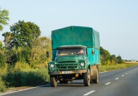 Газобаллонный грузовик ЗиЛ-138. Сумская область, автодорога Р-46