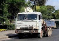 Бортовой грузовик с КМУ КамАЗ-5320 #Х 026 АК 60. Псков, Кузнецкая улица