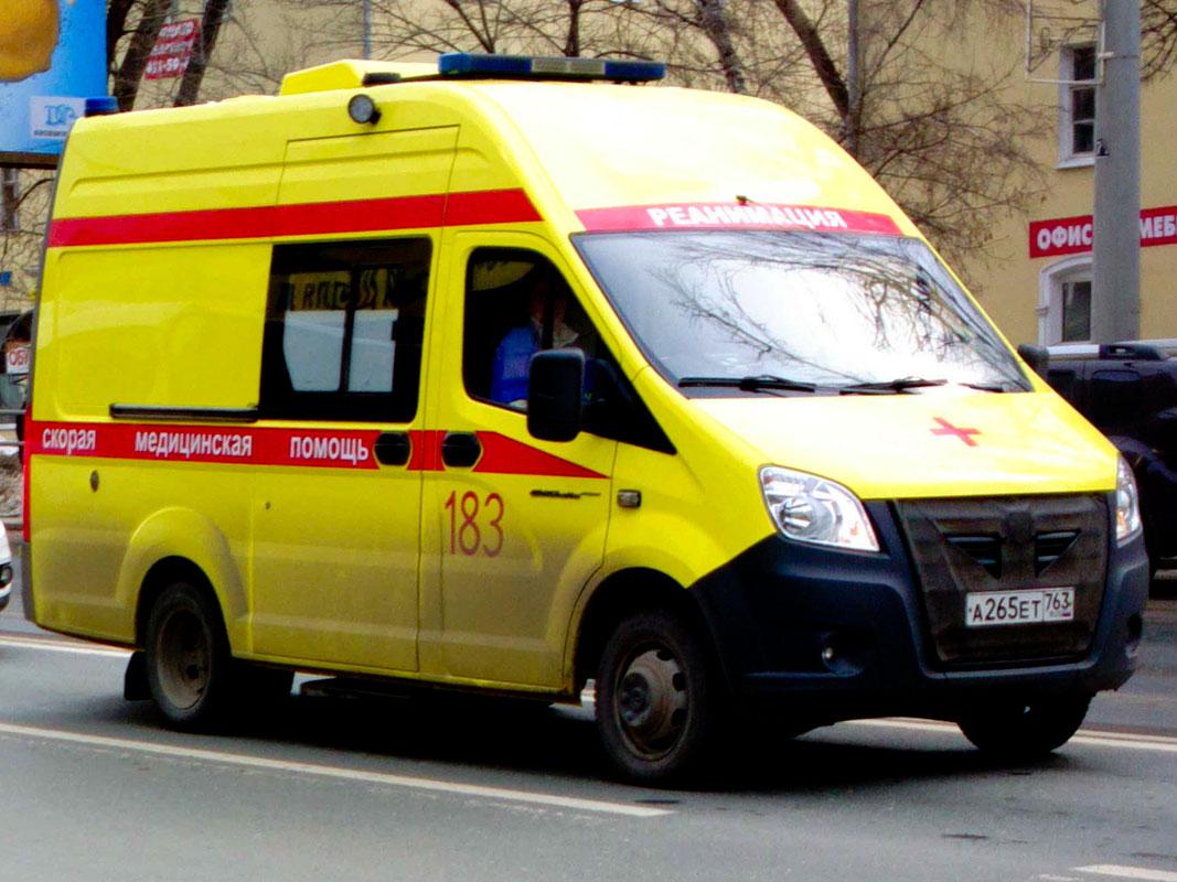 """АСМП ГАЗ-А6ВR23 """"Газель Next"""""""" #А265ЕТ763. Самара, Московское шоссе"""