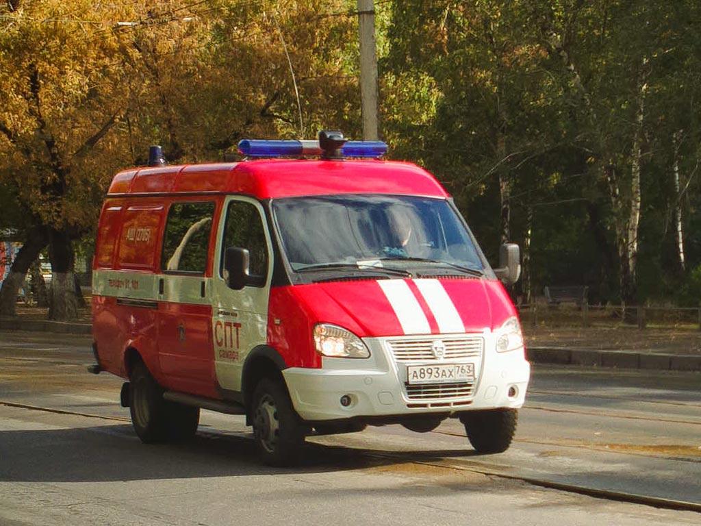 АШ (ГАЗ-2705) #А893АХ763. Самара, улица Мичурина