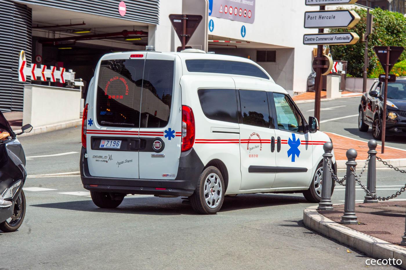 Медицинский автомобиль на базе FIAT Doblo 7196. Monte Carlo