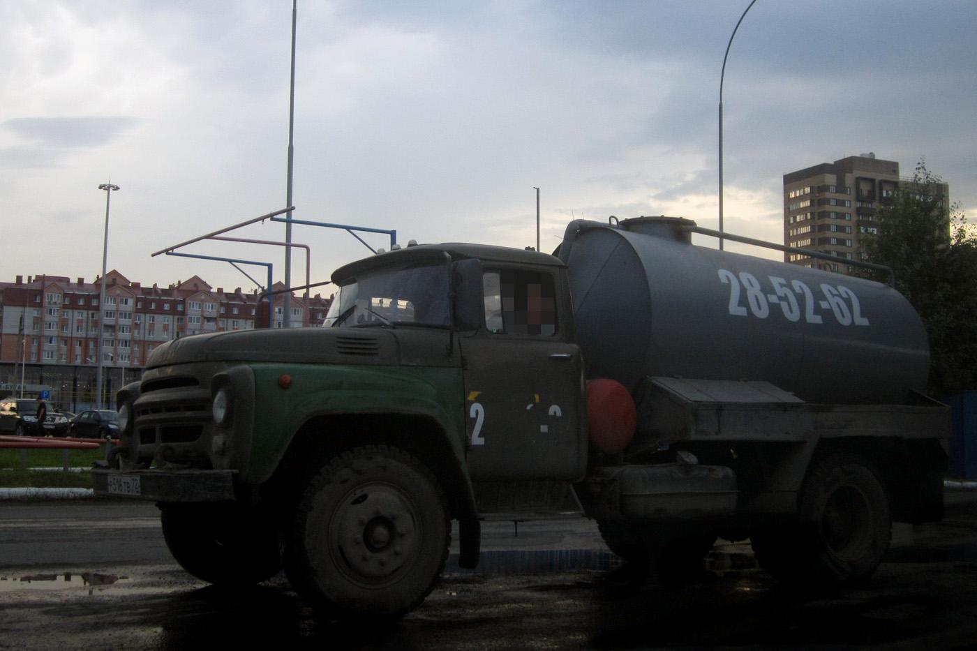 Цистерна для перевозки сжиженного газа на шасси ЗиЛ-431410 #Р 516 ТВ 72 . Тюмень, Тобольский тракт