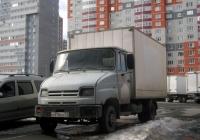 Фургон на шасси ЗИЛ-5301 #Н 878 ЕО 72. Тюмень, микрорайон Плеханово