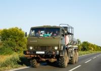 Автоцистерна для перевозки нефтепродуктов на шасси КамАЗ-4310, #ВМ8467АР. Сумская область, автодорога Р-46